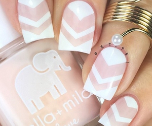 beautiful, nails, and love it image