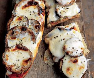 food, cheese, and mozzarella image