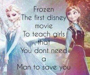 frozen, disney, and elsa image