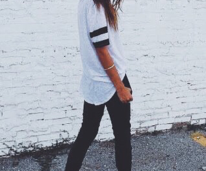 fashion, casual, and street style image