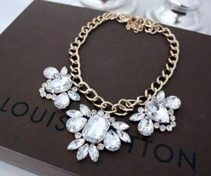 fashion, necklace, and Louis Vuitton image