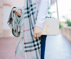 bag, Burberry, and classic image