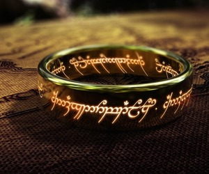 ring, LOTR, and lord of the rings image
