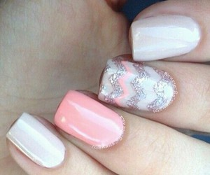 blanco, uñas, and nails image