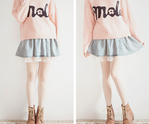 cute, outfit, and pink image