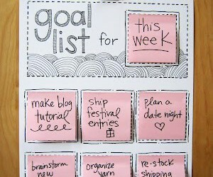 diy, list, and goals image