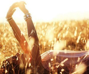 girl, grass, and pretty image
