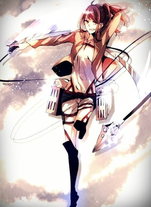 116 Images About Sasha Braus You So Cute On We Heart It See More About Sasha Braus Attack On Titan And Shingeki No Kyojin