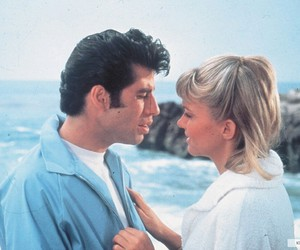 grease, John Travolta, and actor image