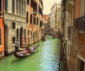 gondola, italy, and summer image