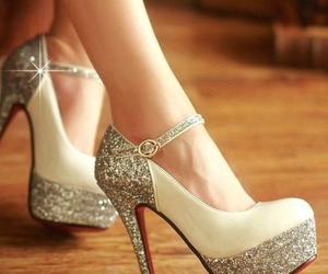 beautiful, diamond, and heels image