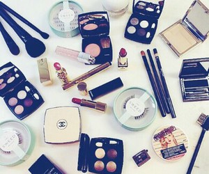chanel, girl, and makeup image