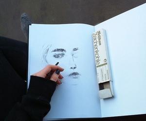 grunge, drawing, and art image