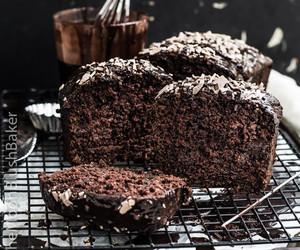 cake, milo, and chocolate image