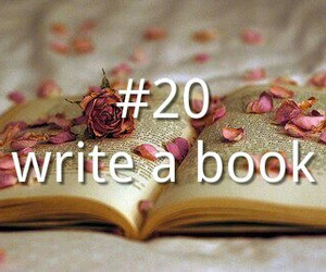 book, fiction, and flowers image