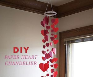 chandelier, diy, and cute image