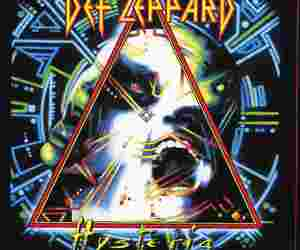 hysteria, music, and def leppard image