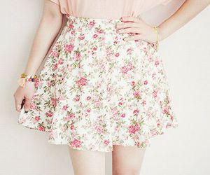 beautiful, flower, and style image
