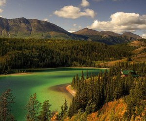 Alberta, canada, and emerald lake image