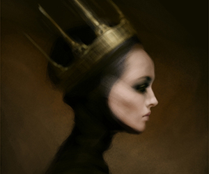 deviantart, king, and evil queen image