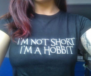 hobbit, funny, and short image