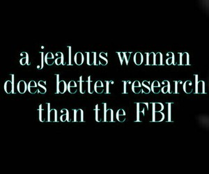 fbi, love, and jealous image
