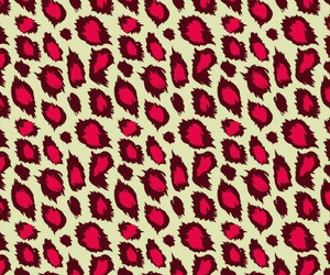 leopard, phone, and red image