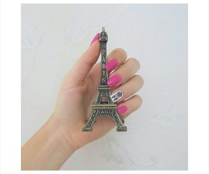 eiffel tower, france, and girly image