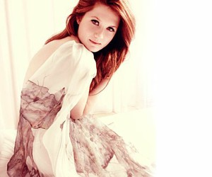 bonnie wright and ginny weasley image