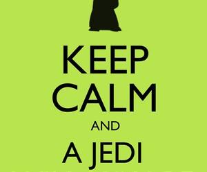 keep calm, jedi, and star wars image