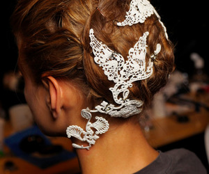 fashion, show, and lace image