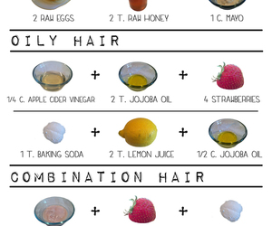hair and healthy hair image