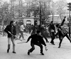 1968, france, and revolution image