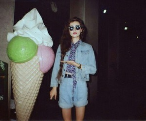 grunge, ice cream, and indie image