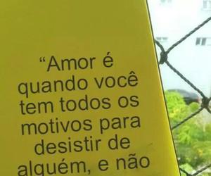 amor, amar, and acreditar image