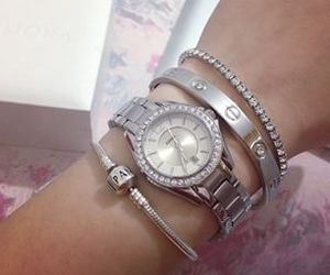 bracelet, cartier, and fossil image
