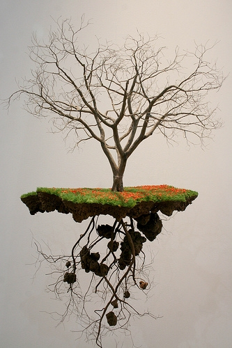 miniature, tree, and sculpture image