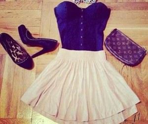 outfit, dress, and shoes image