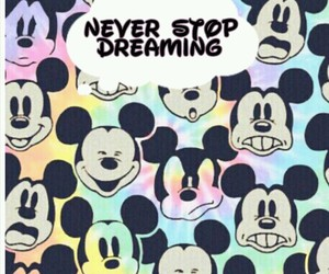 Dream, mickey, and dreamland image