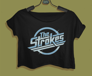 rock music, the strokes, and music t-shirt image