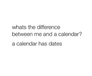 date, funny, and quote image
