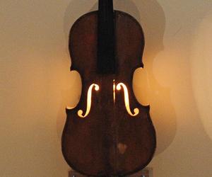 music, light, and violin image