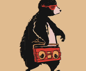 bear, cool, and hipster image