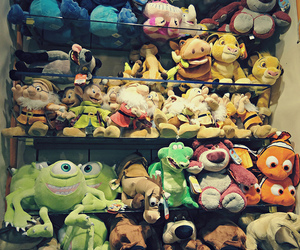 disney, nemo, and toys image