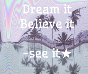 believe, confidence, and do it image