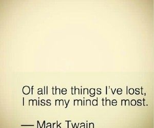 quote, mind, and lost image