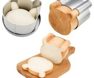 bear, bread, and kids image