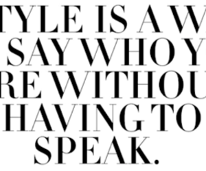 fashion, quote, and text image