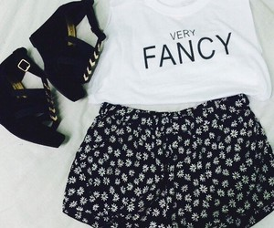 black, clothe, and fancy image