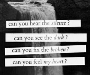 silence, bring me the horizon, and broken image